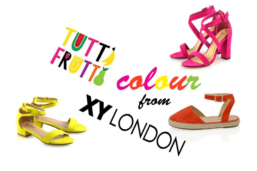 Tutti frutti colour splash!