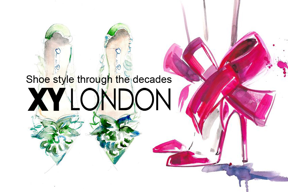 Shoe fashion from some of the key decades